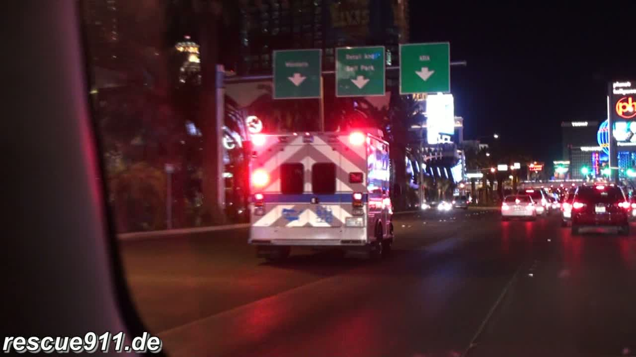 Ambulance AMR Las Vegas (stream)