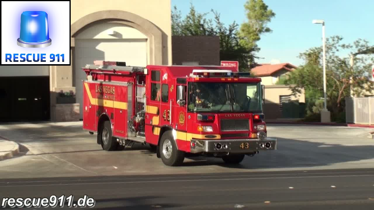 Engine 43 Las Vegas Fire-Rescue (stream)
