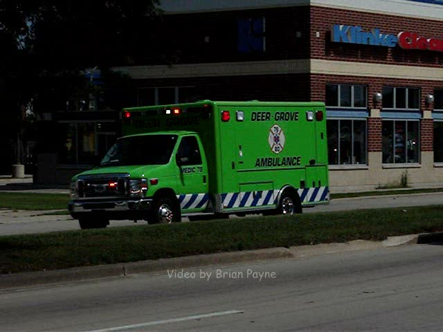 Ambulance Deer-Grove EMS