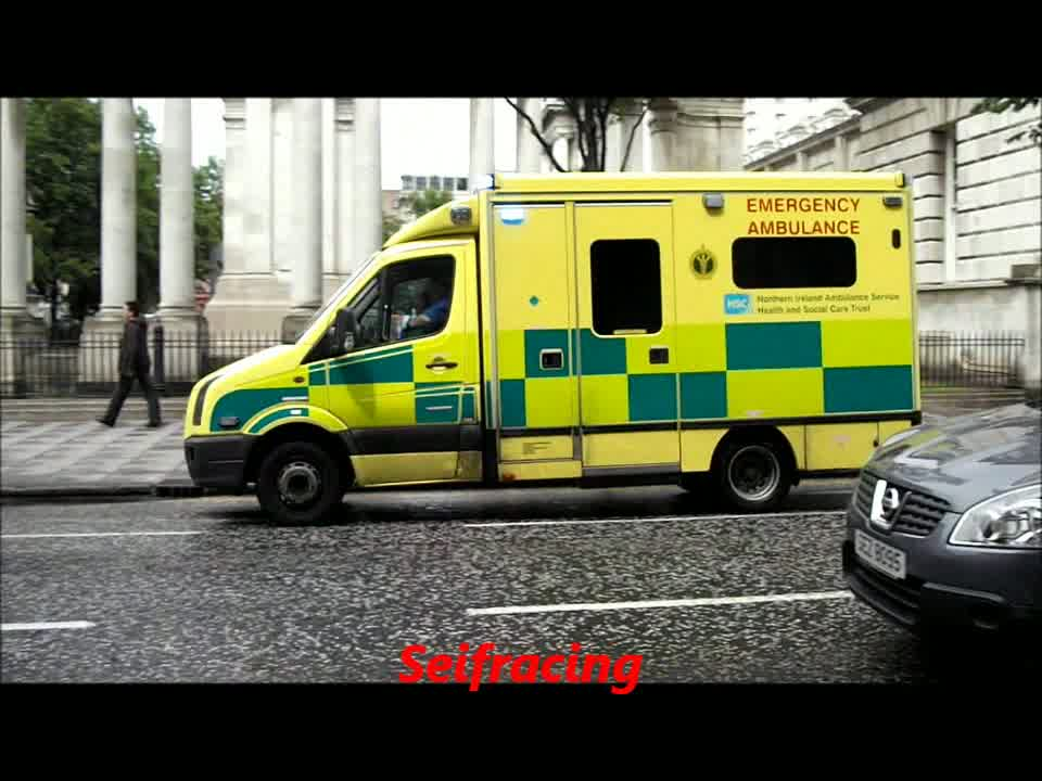 Ambulance service Northern Ireland
