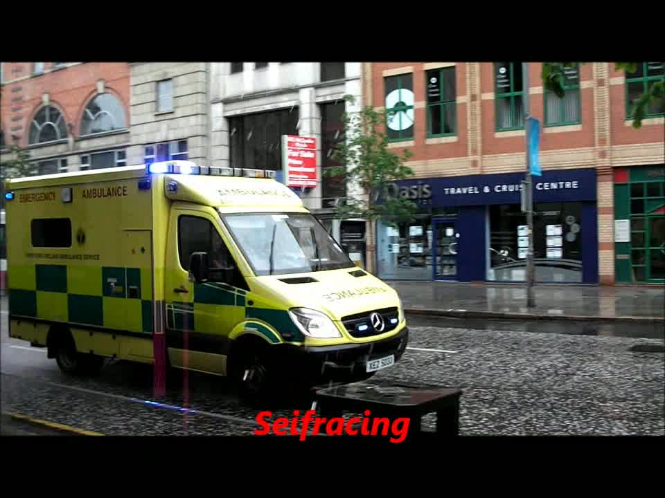 Ambulance Northern Ireland ambulance service