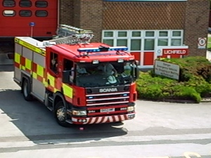 Staffordshire Fire And Rescue Service - Lichfield Turnout