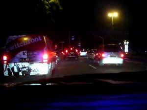 INSIDE VIEW - Switchfoot Police Escort