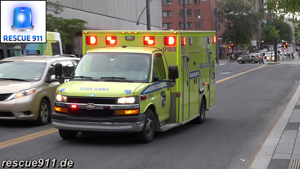 Ambulance Urgences-Santé Montréal (collection) (stream)