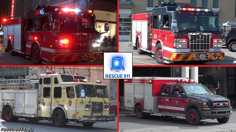 Service Incendie Montreal (compilation) (stream)
