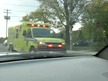 Ambulance 3808 + Superviseur CTAQ
