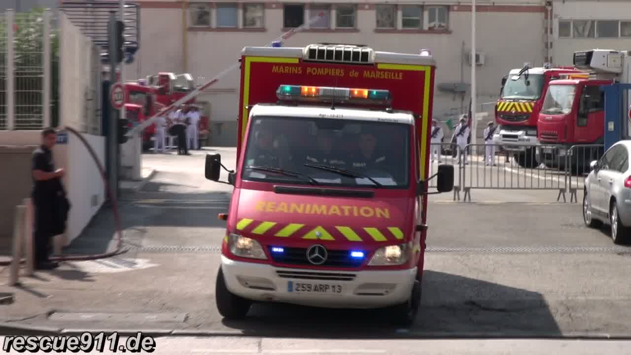 Service de Secours Médical BMPM (collection) (stream)