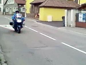 Motard Gendarmerie Nationale
