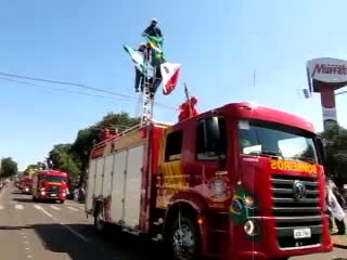 Fire department  parade