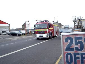Avon Fire and Rescue Pump on call
