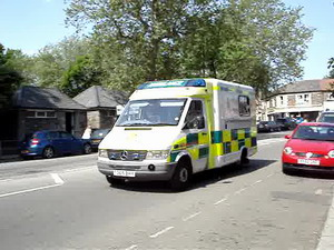 Great Western Ambulance on call