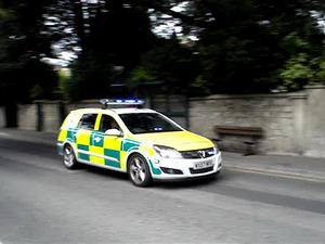 GWAS Paramedic car in Bath UK
