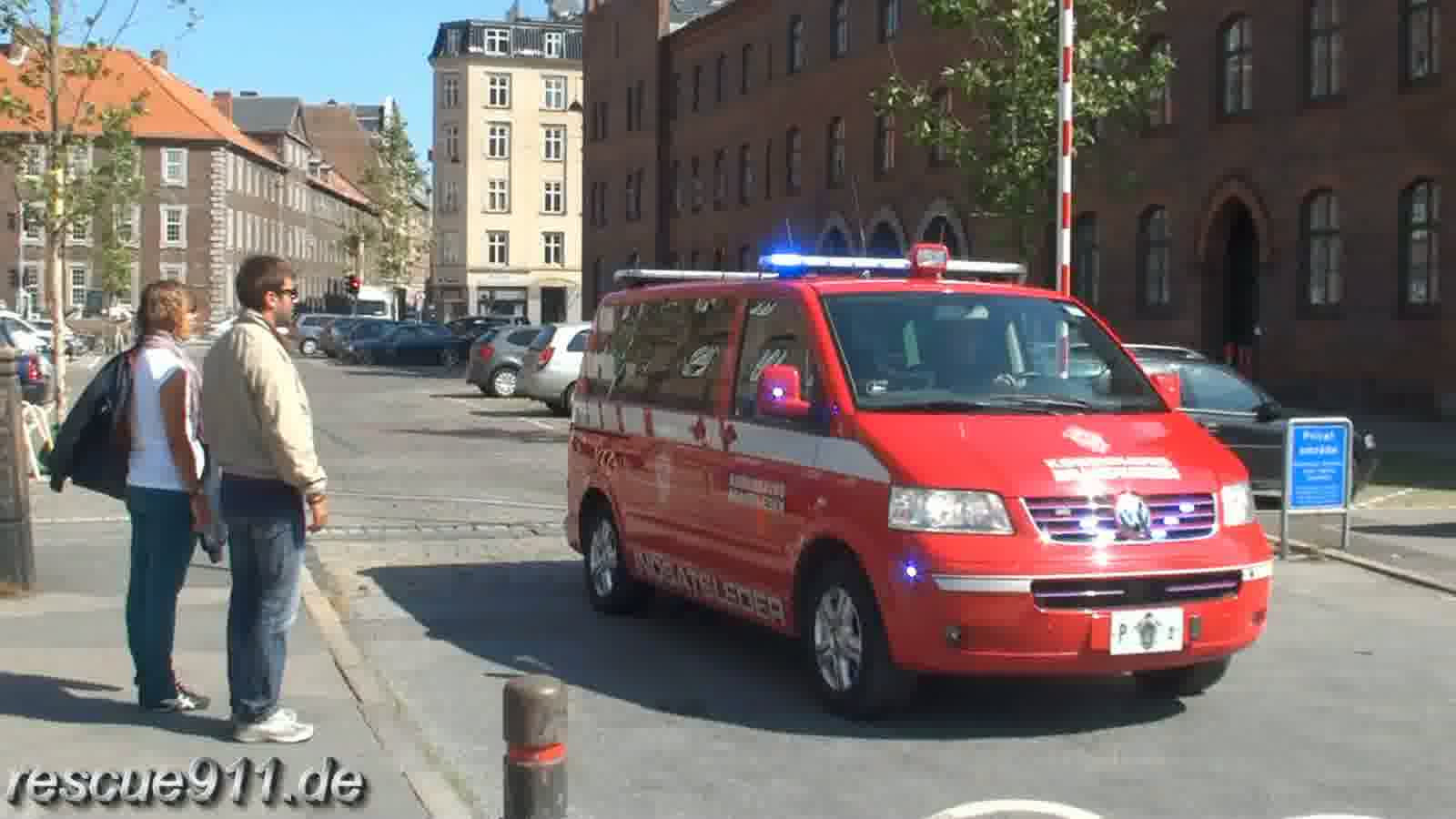 Command vehicle P2 Kobenhavns Brandvaesen (stream)