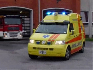 ambulance a17 pump m7 in copenhagen