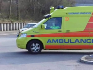 Ambulance a17 from st daemningen