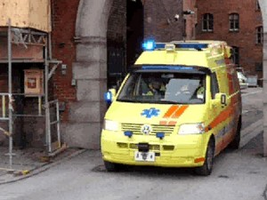 Ambulance a8 + medic car Copenhagen