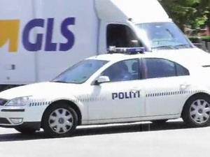 Police car in Copenhagen