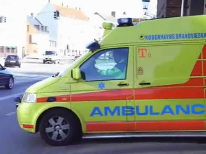 Ambulance a23 from st tomsgården