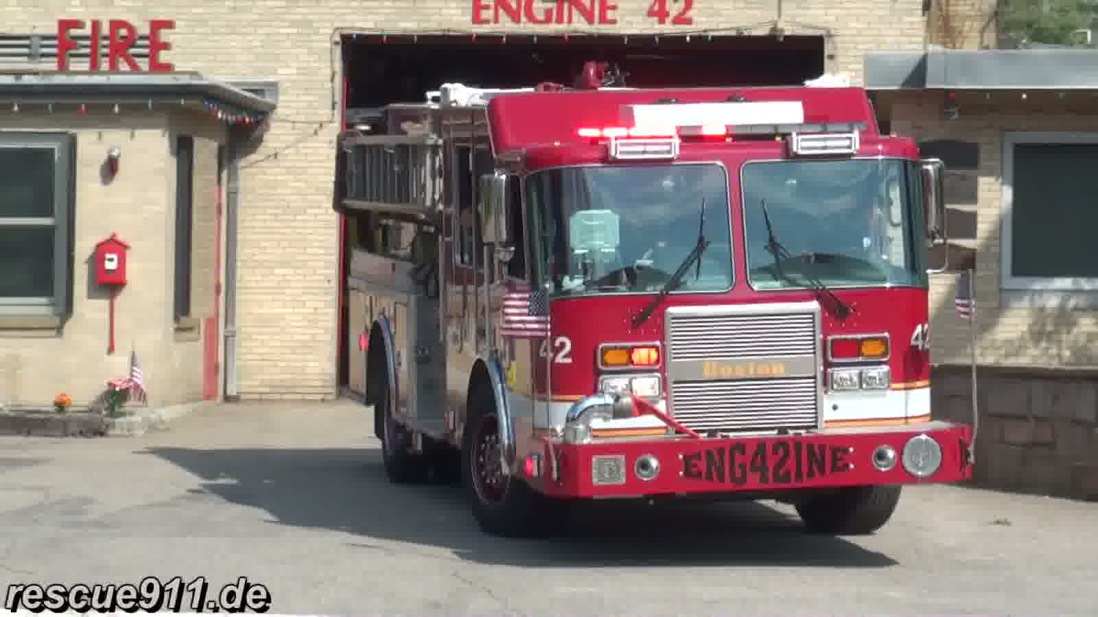 Engine 42 Boston Fire Department (stream)