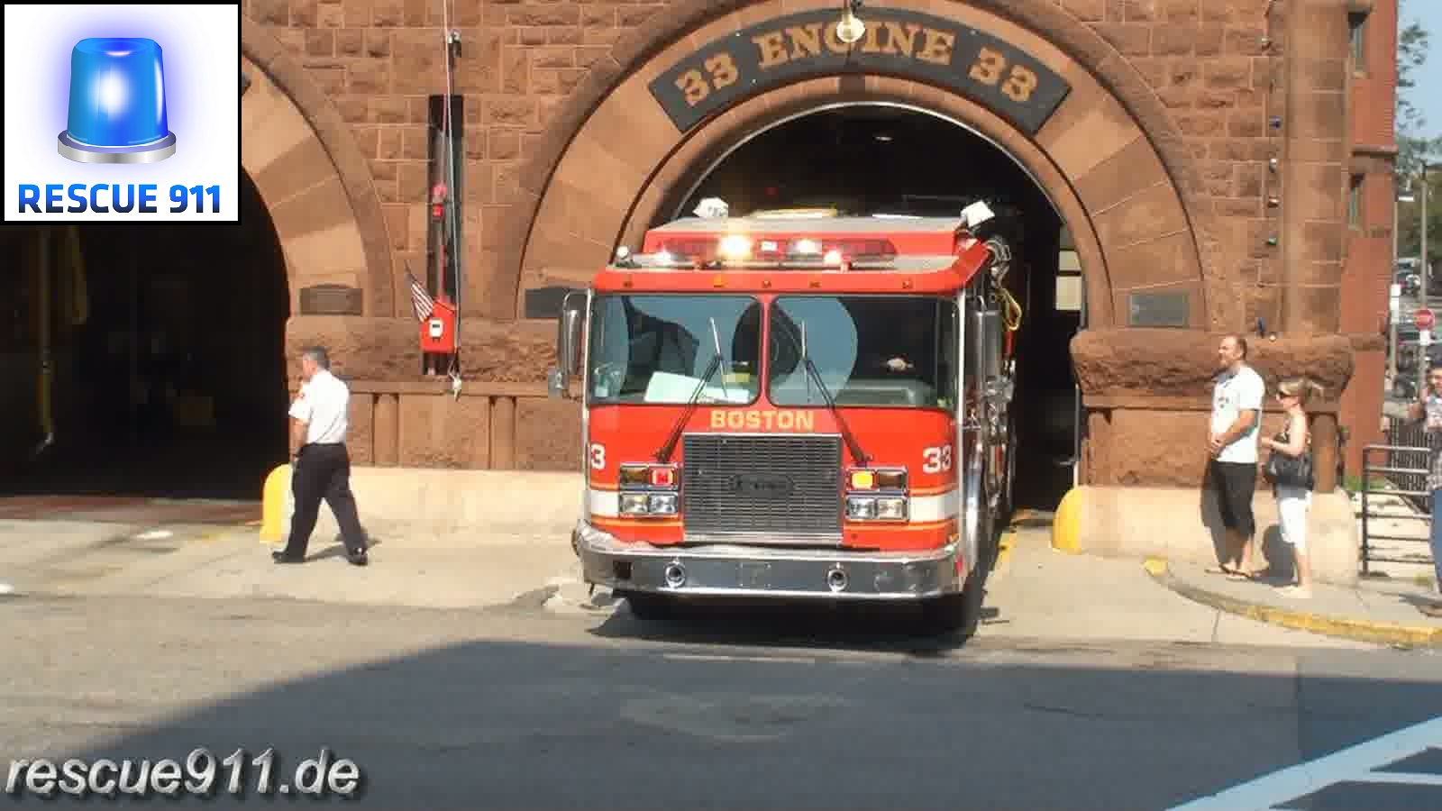 Engine 33 Boston Fire Department (stream)