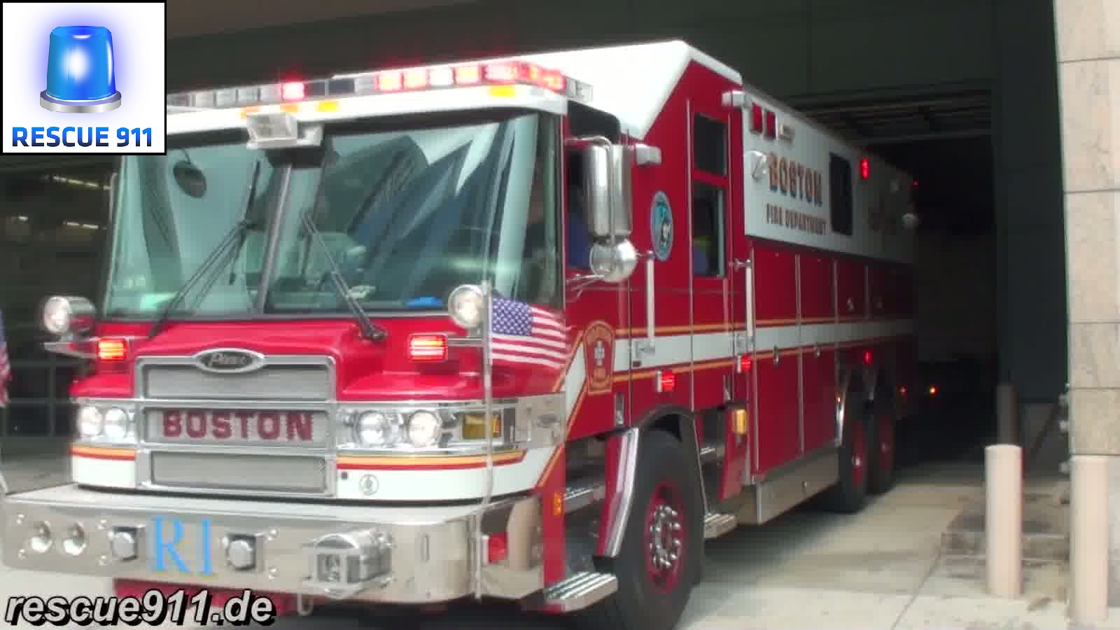 Rescue 1 Boston Fire Department (stream)