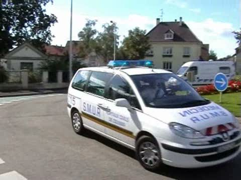 VLM SAMU 68 SMUR Colmar + ASSU Ambulances Jacquat Munster (stream)