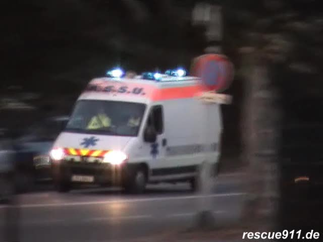 3x ASSU Ambulances Greiner (stream)